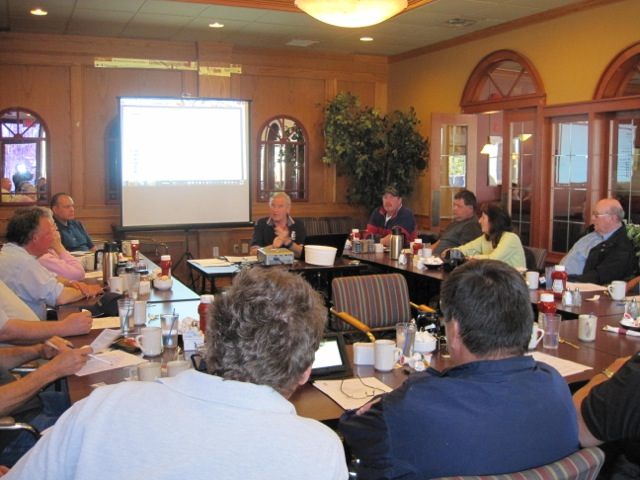 District 8 members at Training Meeting, April 28, 2012