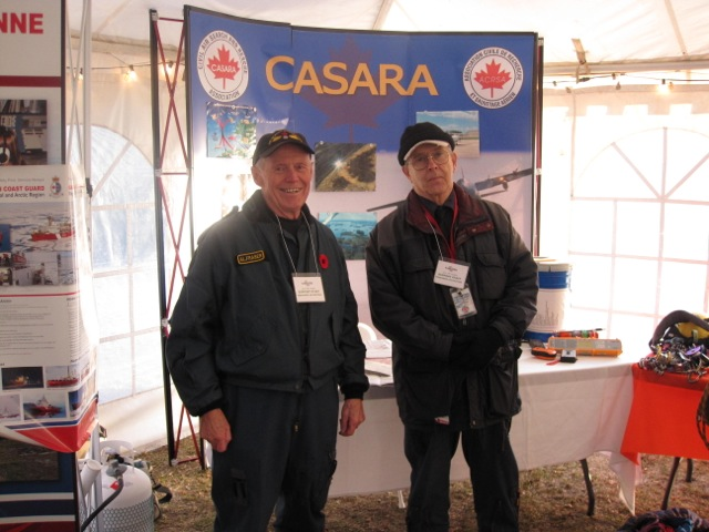 CARASA Manitoba Booth, SARScene, Winnipeg, Oct. 2011